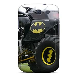 Galaxy High Quality Tpu Cases/ Batman Monster Truck Njk24986swxV Cases Covers For Galaxy S3 Black Friday