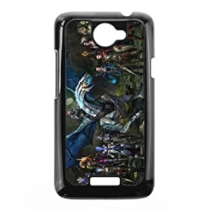 Exquisite stylish phone protection shell HTC One X Cell phone case for Mass Effect pattern personality design