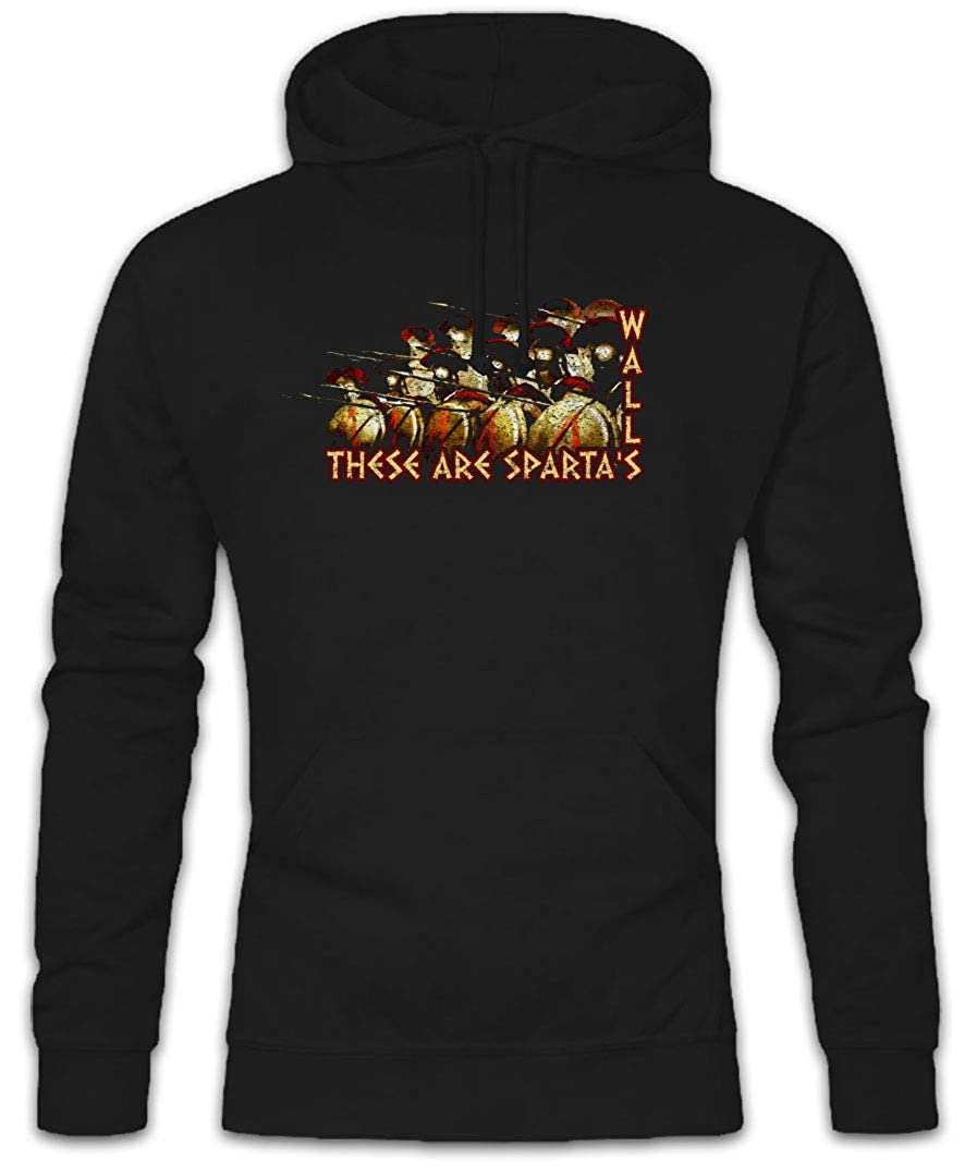 SPARTAN GEAR HOODIE Sparta Spartans Shield Spear Helmet Leonidas 300