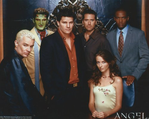 Angel TV Series 8x10 Cast Photo