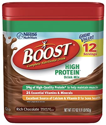 Boost High Protein - Chocolate Powder, 17.7-Ounce Canister