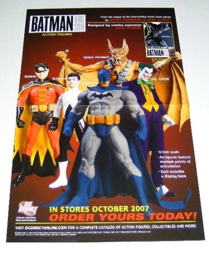 (DC Direct Batman and Son Action Figures 17 by 11
