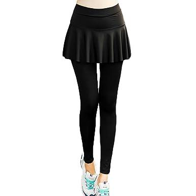 Pantalones Deportivos Mujer Leggings Falda - Hibote Pantalones ...