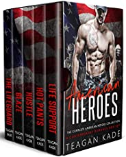 American Heroes: The Complete American Heroes Collection (A Contemporary Romance Box Set) (Bad Boy Bundles)