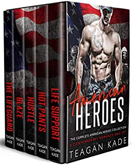 American Heroes: The Complete American Heroes Collection (A Contemporary Romance Box Set) by [Kade, Teagan]
