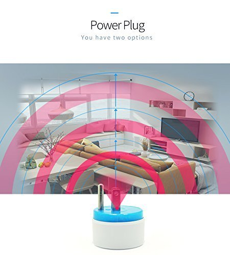 HAOZEE Z Wave Plus Mini Smart Power Plug Home Automation Zwave Outlet,Z Wave Range Extender,Energy Monitoring,Works with Wink,SmartThings & more by HAOZEE (Image #8)