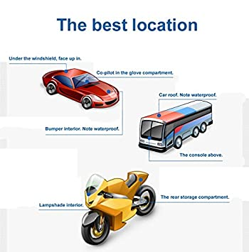 GPS Locator Moto Anti Robo SMS vehículo?berwachung Localización Tracker antirrobo Sistema de protección con GPRS emisor peil emisor: Amazon.es: Coche y moto