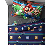Nintendo Mario Twin Comforter and Sheet Set Review and Comparison