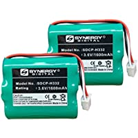 Huawei BTR2260B Cordless Phone Battery Combo-Pack includes: 2 x SDCP-H332 Batteries