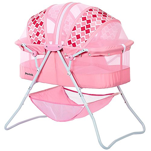 Best Price! Dream On Me Karley Bassinet, Rose