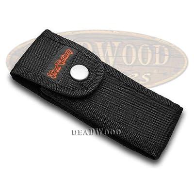 Frost CUTLERY Black Nylon Logo Knife Belt Sheath