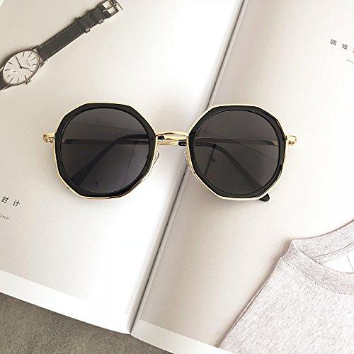 Féminine Xue Lunettes Miroir schwarz Série Sombre Fashion Personnalité zhenghao qv7avnwI