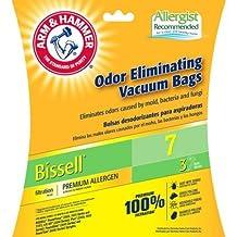 Arm & Hammer 9-Pack Odor Eliminating Vacuum Bags, Bissell 7 Premium Allergen by Bissell