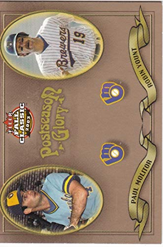 2003 Fleer Fall Classics Postseason Glory #13 Robin Yount Paul Molitor /1500