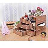 100% Brand New And Good Quality!. Gender: Women Girls Item Type: Makeup Organizer/Cosmetic Storage Style: Fashion Material:wood Color:Red, Green, Brown, Pink, Purple, Orange, Black, Yellow, Flower Usage: Jewelry, storing lipsticks, foundation...