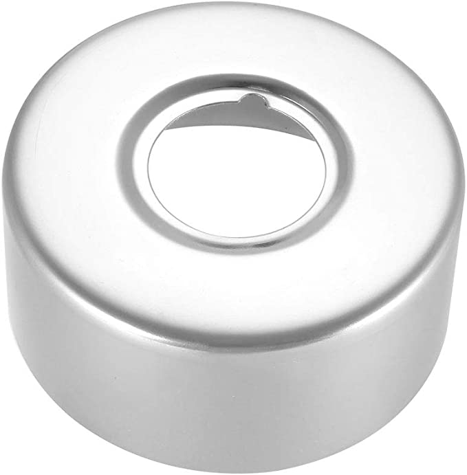 Round Escutcheon 54x6.5mm Stainless Steel Polishing for 21mm Diameter Pipe 3Pcs