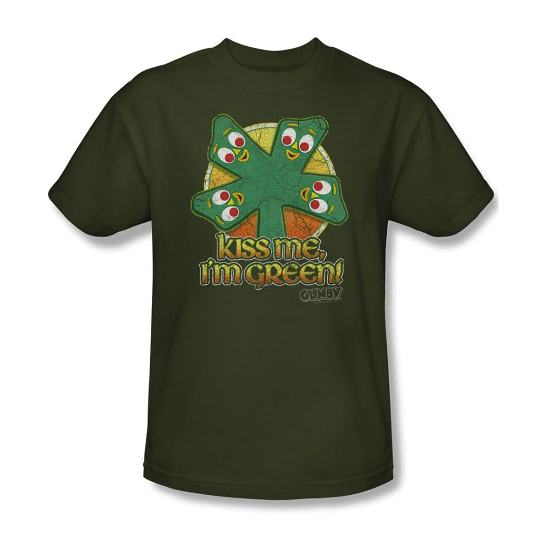 Gumby - Mens Kiss Me T-Shirt