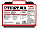 """Be Smart Get Prepared 250Piece First Aid"