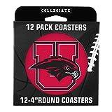 NCAA Utah Utes Pulpboard Coasters, Set of 12