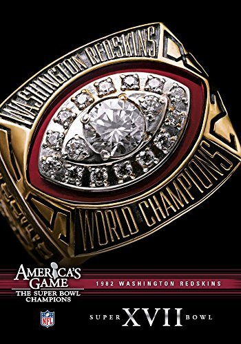Washington Redskins Super Bowl Xvii: NFL America's [DVD] [Region 1] [US Import] [NTSC] (Redskins Washington Dvd)