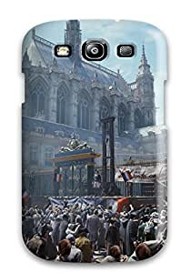 Fashion Protective Assassin's Creed: Unity Case Cover For Galaxy S3 9229110K45538471