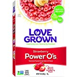 Love Grown Strawberry Power O's, 10 oz. Box
