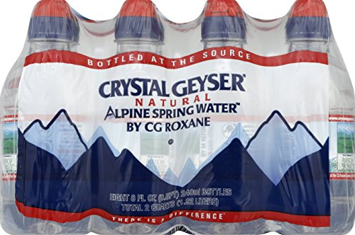 Alpine Alpine Spring Water 8 Oz (Pack Of 32) (Alpine Spring)