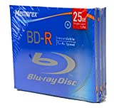 Memorex Bd-r 4X, Single Jewel Case 3 Pack
