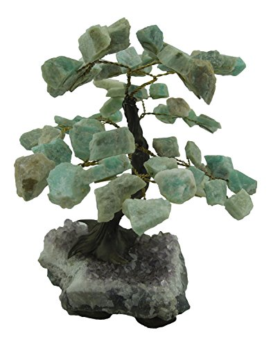 Amazonite Gemstone Tree - M - 5.5