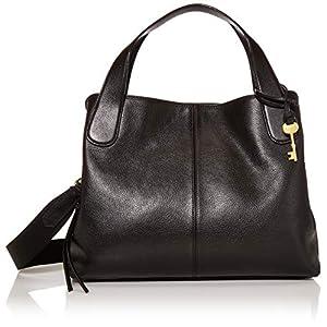 Fossil Women's Maya Leather Satchel Purse Handbag