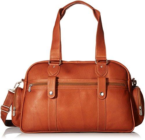 (Piel Leather Adventurer Carry-on Satchel, Saddle)