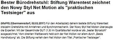 64/% Net MotionBürodrehstuhlTestsieger Stiftung Warentest 02//2017AKTION