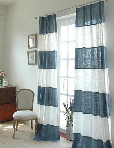 CLL/(dos paneles) toallas Patchwork de banda/Panel algodón (blanco/