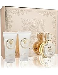 Versace Eros Pour Femme for Women 3 Piece Gift Set