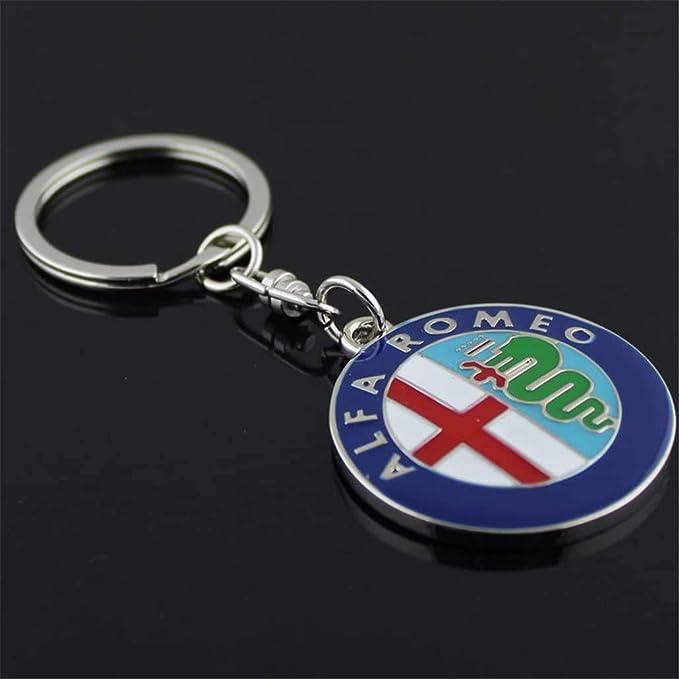 Psl Schlüsselanhänger Aus Metall Mit Auto Logo Schlüsselanhänger Für Alfa Romeo Autos Bekleidung