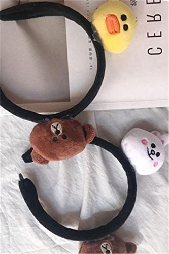 Generic Day Han Xiaoqing new cute cartoon animal headdress headband hair band students to wash hair Cave Korean hair accessories women girls lady by Generic