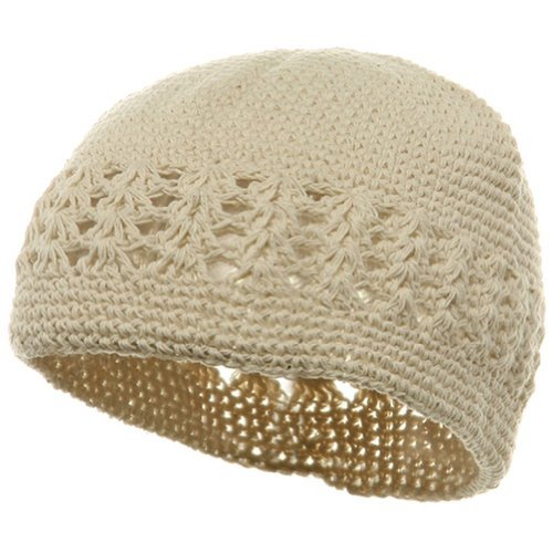 Knit Kufi Hat Crochet Beanie product image