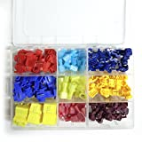 Salipt Quick Splice Solderless Terminals and T-Tap Electrical Connector Assortment Kit 120pcs with Case