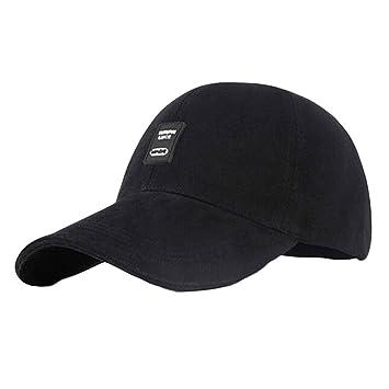 Sport Black Baseball Visor Golf Tennis Caps Breathable Men Hats   Amazon.co.uk  Sports   Outdoors 35b13b122c17