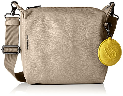 Mandarina Duck Mellow Leather Tracolla - Bolso de hombro Mujer Grau (SIMPLY TAUPE)