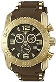 Swiss Legend Men's 10070-YG-04-BRWS Commander Pro Analog Display Swiss Quartz Brown Watch