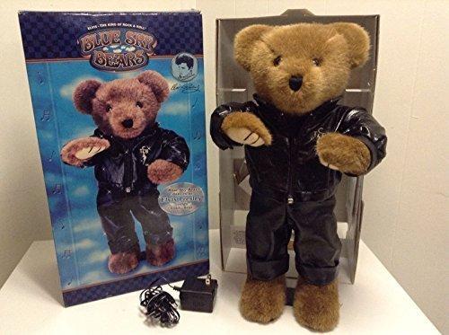 Blue Sky Bears Dancing Singing Elvis Presley Toy Bear (Presley Bear Elvis)