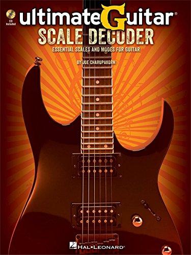 - Hal Leonard Ultimate-Guitar Scale Decoder Book/CD