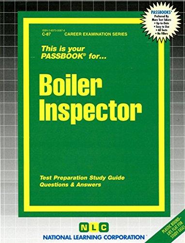 Boiler Inspector(Passbooks)