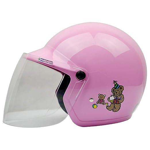 YAJAN-helmet Cascos para niños,Casco de niños de la Personalidad ...