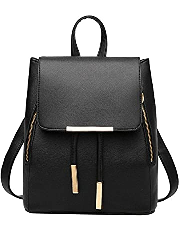 99e45f0c39 WINK KANGAROO Fashion Shoulder Bag Rucksack PU Leather Women Girls Ladies  Backpack Travel bag