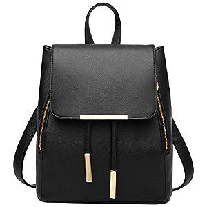 WINK KANGAROO Fashion Shoulder Bag Rucksack PU Leather Women Girls Ladies Backpack Travel bag 24