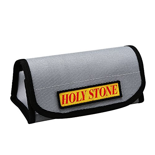 New Holy Stone Lipo Battery Charging Bag Fire proof and Explosion proof Lipo Safe Bag for Charge and Storage, Fireproof both Inside and Outside, made from Environmentally-Friendly Material