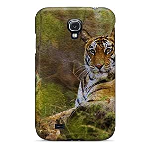 High-quality Durability Case For Galaxy S4(tigers)