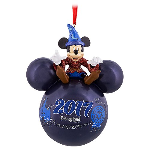 Disney Parks Christmas Day Parade - Disneyland 2017 Sorcerer Mickey Mouse Icon Ornament